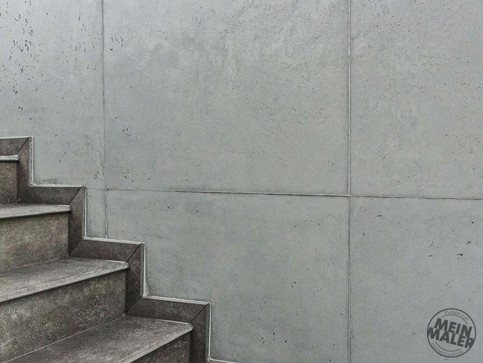 ... Betonoptik Schalungsfugen Moderne Wand Wandgestaltung Reichenbach Maler  03 ...