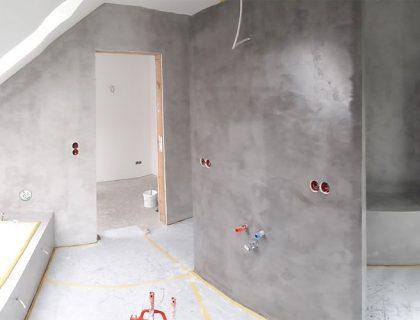Fugenlos glücklich - Badsanierung von Malerbetrieb Sachs in Lauterbach
