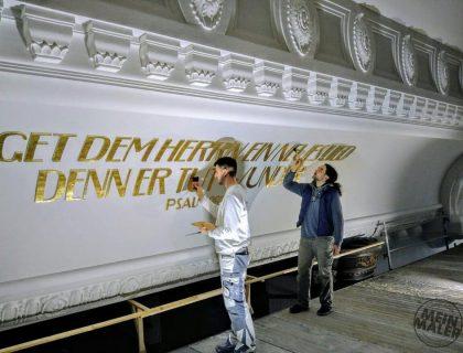 Malerarbeiten Friedenskirche Aue Lieblingsmaler Reichenbach 01