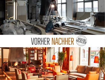Malerarbeiten Hotel Berlin Lounge Wohlfuehloase Raumgestaltung Lieblingsmaler Reichenbach 02
