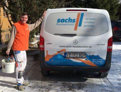 MeinMaler Sachs Malerfachbetrieb Lauterbach neue Fahrzeuge Uebergabe 2