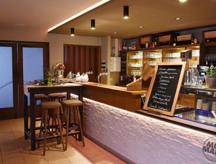 Rostoptik Restaurant Bar Wandgestaltung Retro Gastronomie Treuenbrietzen Interior design