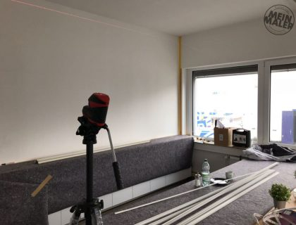 Sichtbeton Betonschalungsfuge Stuck NMC Homedecor Betonoptik Magnetwand Tafellack LED Lichtdesign 31