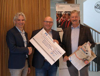 NEURAUM Foerderverein Spende von Malerbetrieb Sachs aus Lauterbach