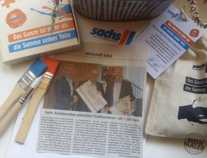 Spendenbeitrag Sachs Malerfachbetrieb Lauterbach Vogelsberg