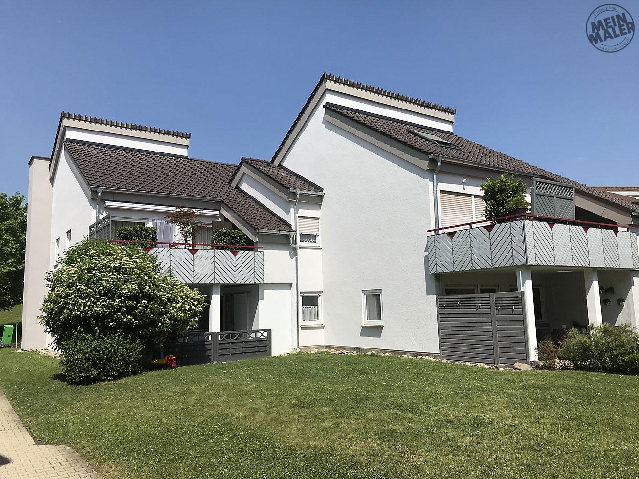 Fassadensanierung Eines Mehrfamilienhauses In Eningen Macht
