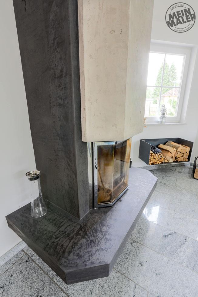 report malerarbeiten treppe wei lackieren kamin in. Black Bedroom Furniture Sets. Home Design Ideas