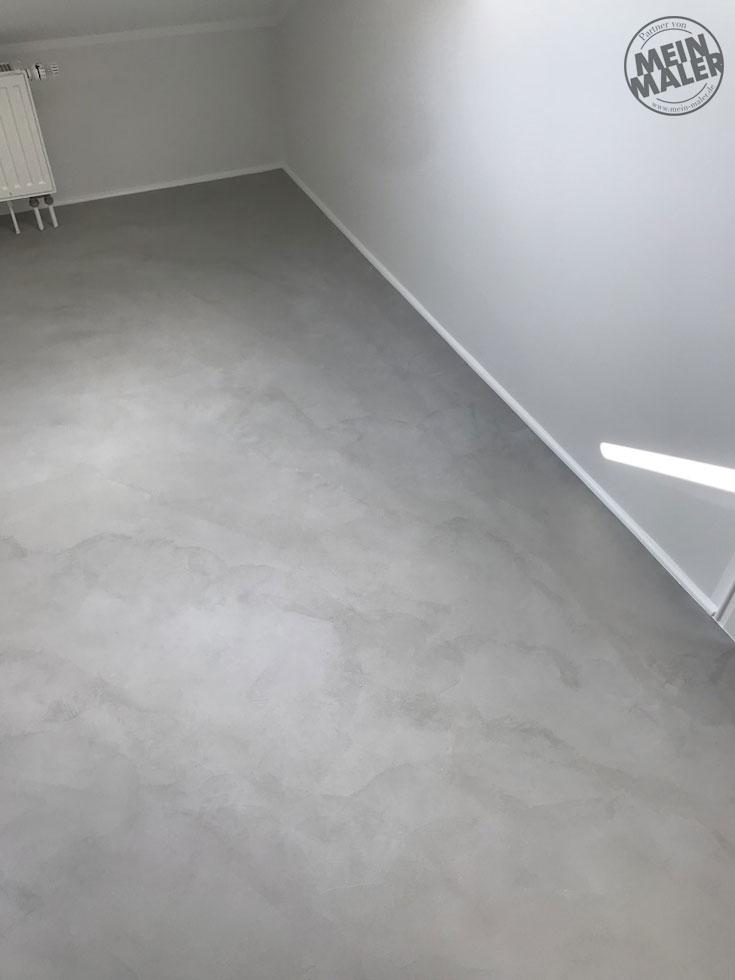 Loftboden Herstellen Fugenloser Designboden In Optik Wie Beton