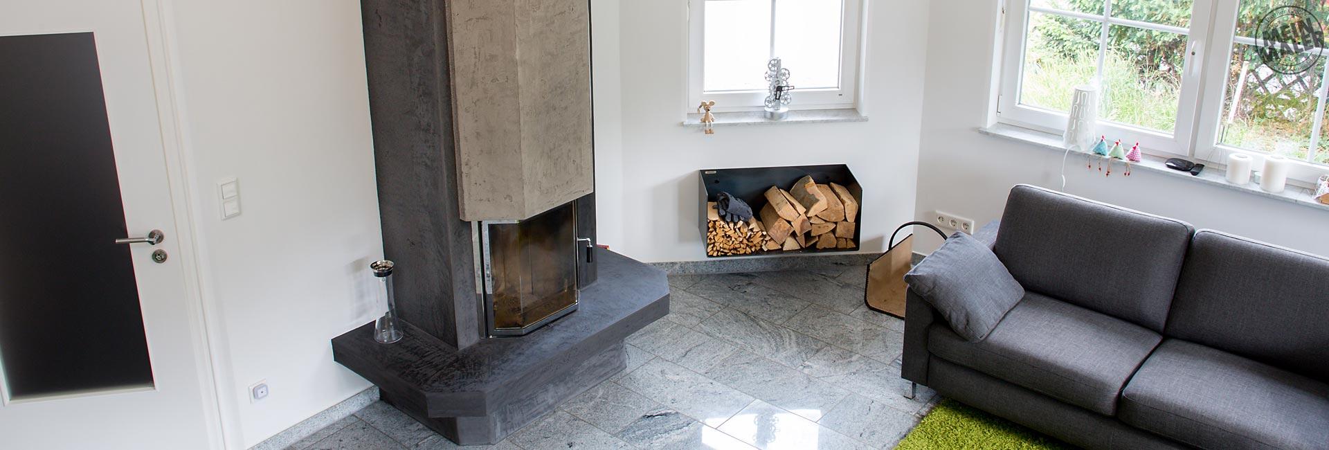 report malerarbeiten treppe wei lackieren kamin in betonoptik fugenloser fu boden in. Black Bedroom Furniture Sets. Home Design Ideas