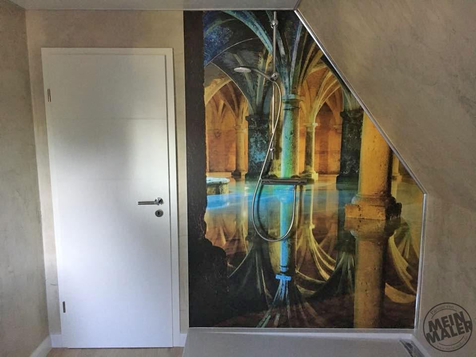 Märchenhaft: Sanierung eines Badezimmers – Fugenlose Spachteltechnik ...