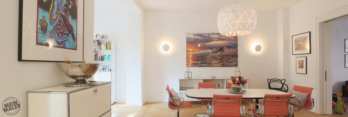 Stadthaus hochwertige Malerarbeiten Hannover glatte Decken ...