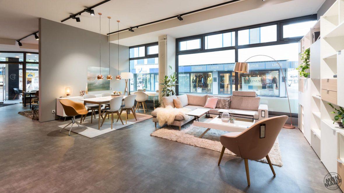 Wand Und Bodengestaltung Bei Boconcept In Hannover Meinmaler