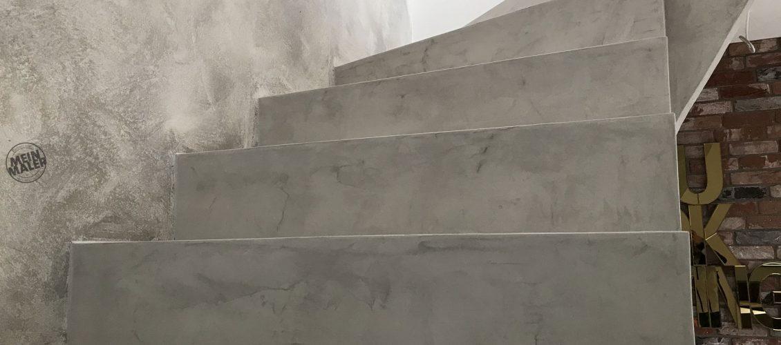 Berlin Treppe in Betonoptik gestalten   Fläming Malerei ist Top Experte   MeinMaler Partner ...
