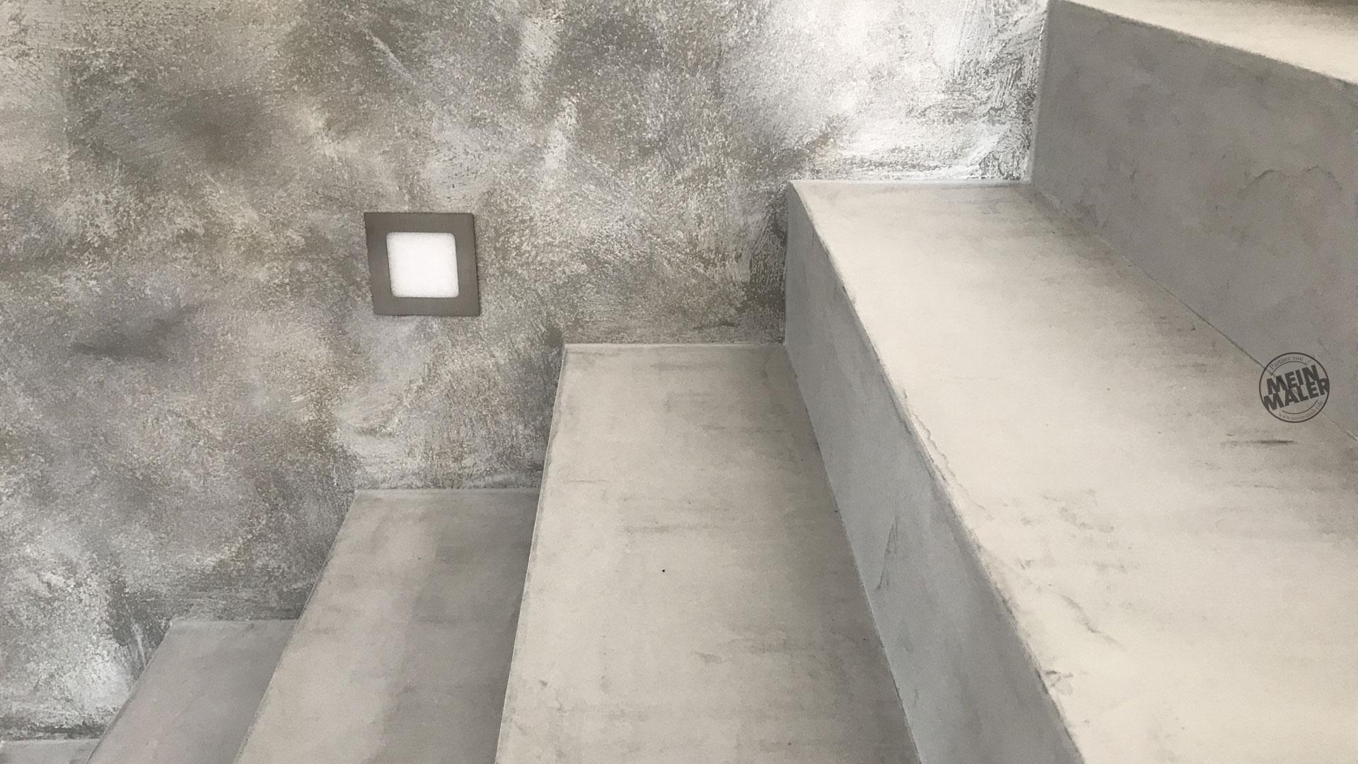 Berlin Treppenstufen In Betonoptik Fugenlos Gestalten Meinmaler